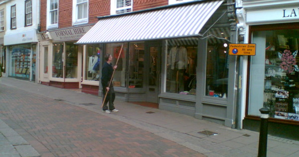 Shop Awning Fabric Replacement In Bury St Edmunds