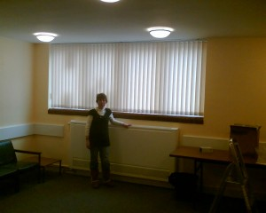 The refurbished committee room in Chalkstone Community Centre, Haverhill.